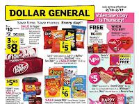 Dollar General Weekly Sale Ad February 18 - 25, 2019