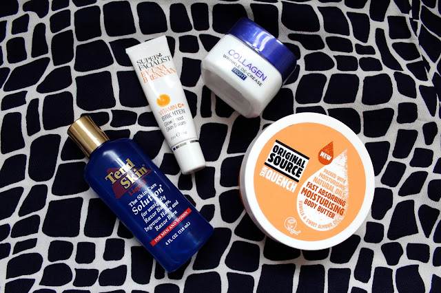beauty blog blogger bbloggers bbloggers tend skin liquid ingrown hair super facialist by una brenna vitamin c brighten glow boost skin serum loreal collagen wrinkle decrease night cream moisturiser original source skin quence body butter skincare skin kirstie pickering