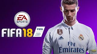 FIFA 18 Logo Wallpaper