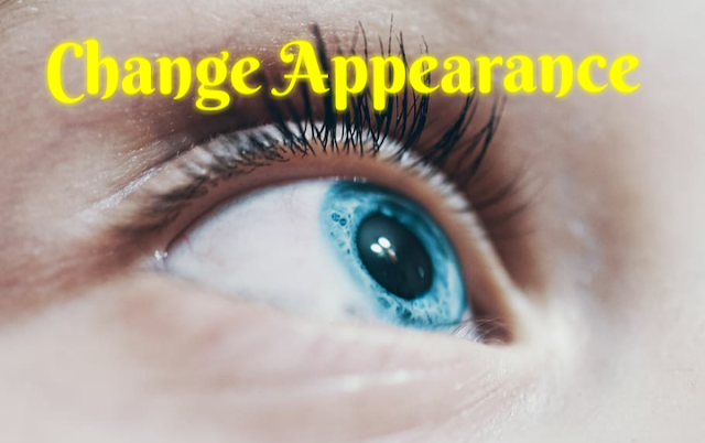 Change appearance using law of attraction
