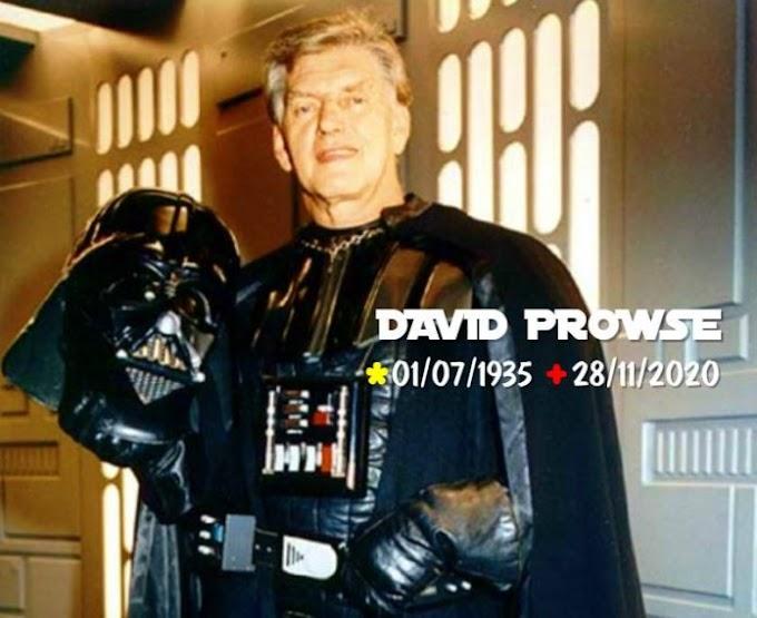 Morre David Prowse, o ator por trás da máscara de Darth Vader