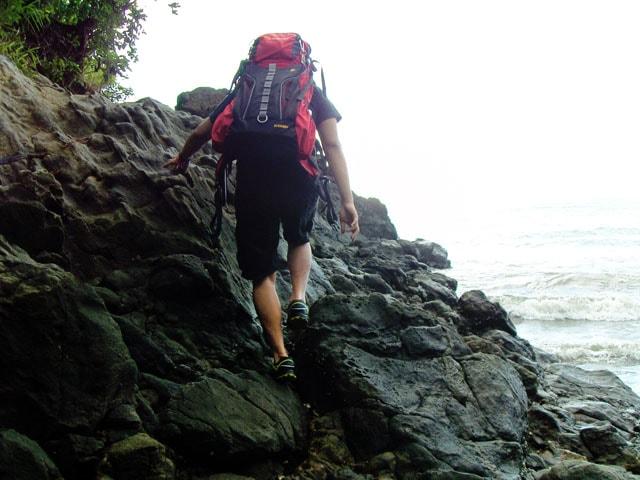 Climbing Bugsukan Rock Formation
