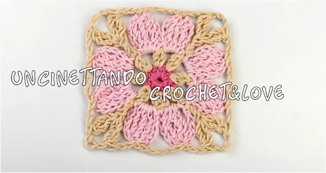 Aprende a Tejer Granny de Flor a Crochet