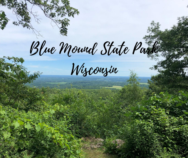 Views, Boulders and Forest Bathing at Blue Mound State Park in Wisconsin