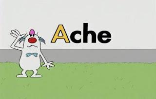 A man talks about A words. Sesame Street All Star Alphabet