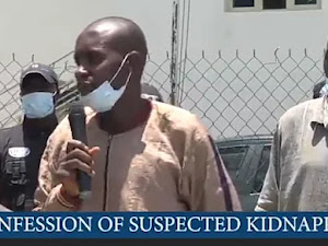 """We Killed The Former Governor's Father After Collecting The 10 Million Naira Ransom"""" - Suspect"""