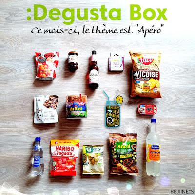 Blog PurpleRain - Degusta Box de Juin : Apéro