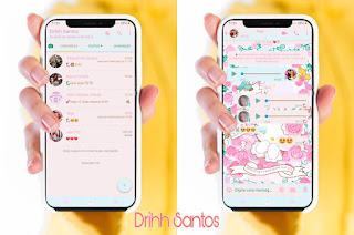 Princess Kitty Theme For YOWhatsApp & Fouad WhatsApp By Driih Santos
