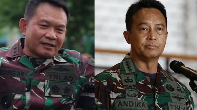 Andika Perkasa Disebut Bakal Jadi Panglima TNI, Dudung jadi KSAD