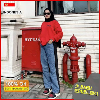 RAMAR1200 NEW SET SMILE SWEATER CREWNECK BARU 2021