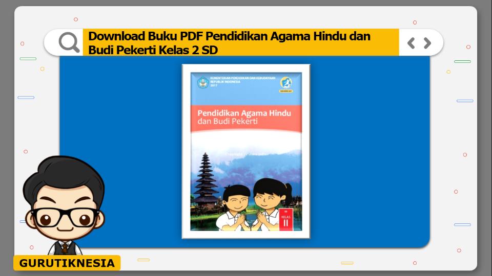 download buku pdf pendidikan agama hindu dan budi pekerti kelas 2 sd