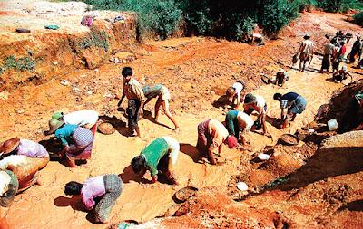 ruby mining Myanmar style