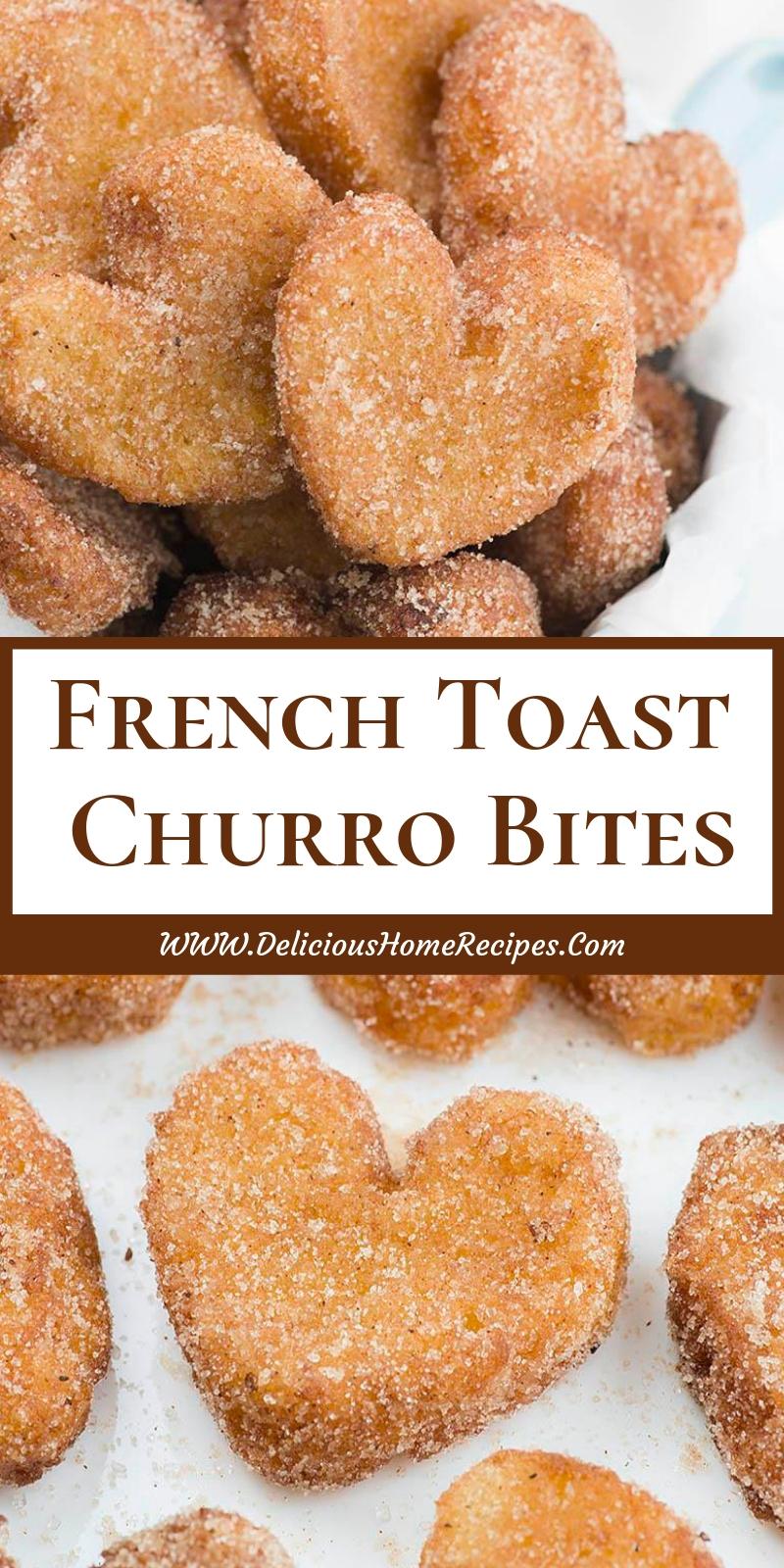 French Toast Churro Bites