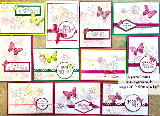 Nigezza Creates with Stampin' Up! in 2019 my best bits!