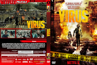 CARATULA VIRUS - THE FLU - 2013