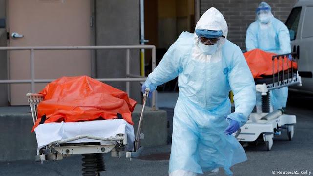 EUA com 960 mortos vítimas de covid-19 nas últimas 24 horas