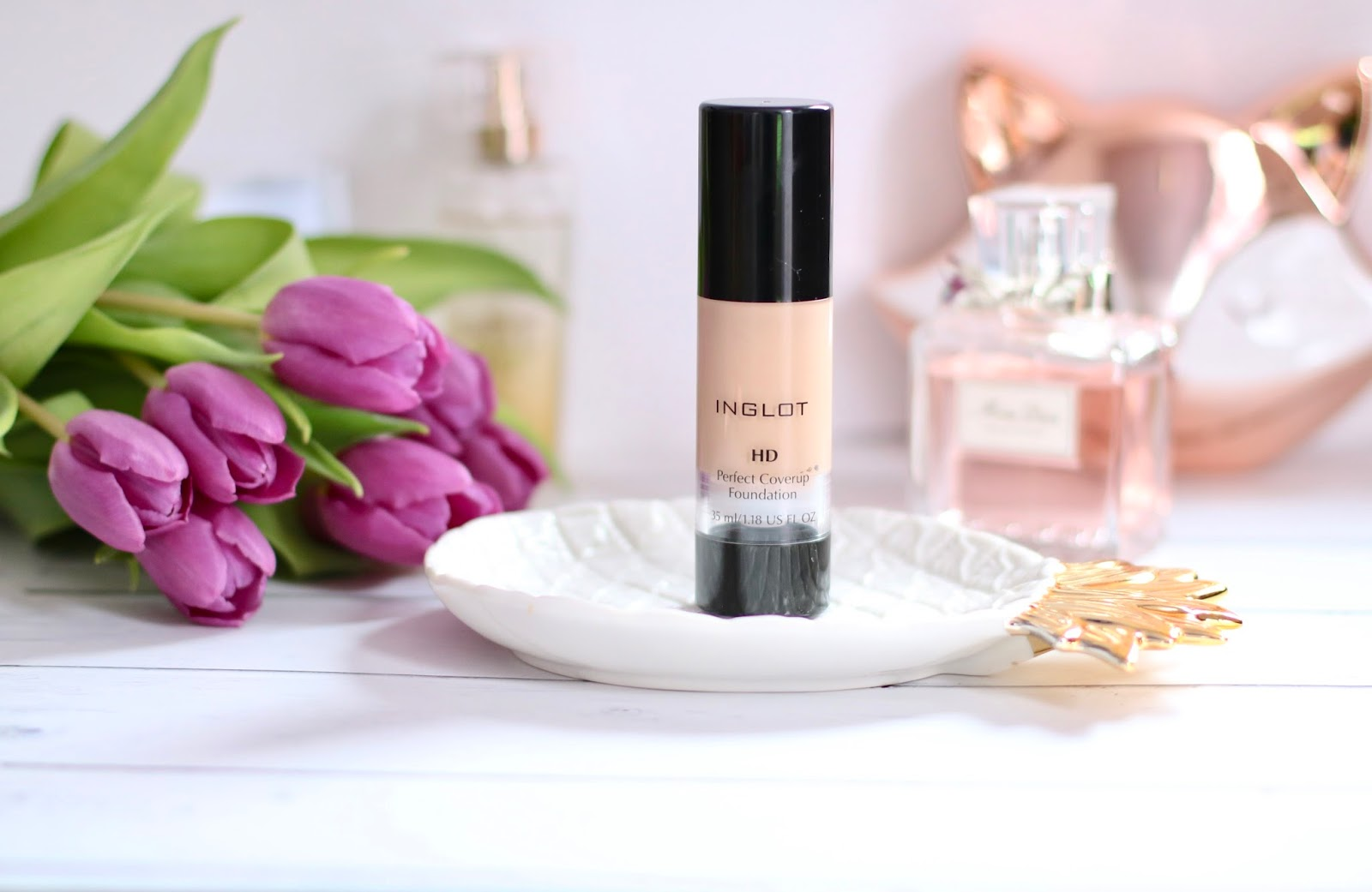 Inglot HD Perfect Coverup - Recenzja
