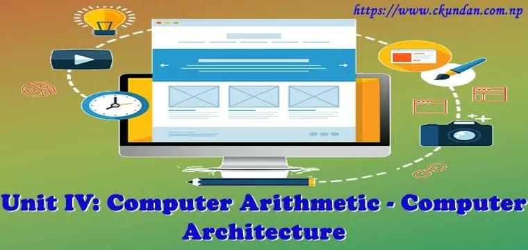 Computer Arithmetic - Computer Architecture