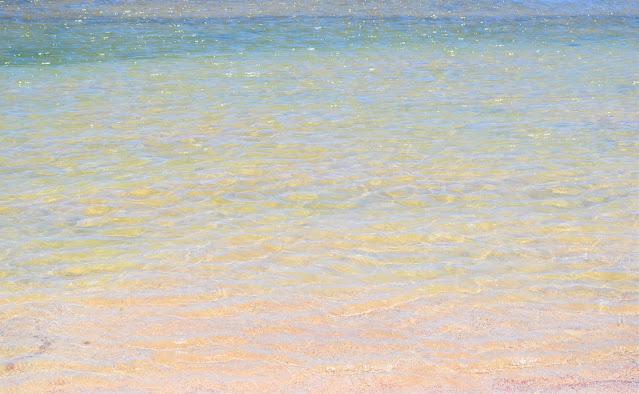 agua do mar cristalina