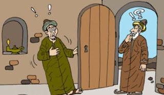 قصة الرجل الكريم وصاحبه البخيل