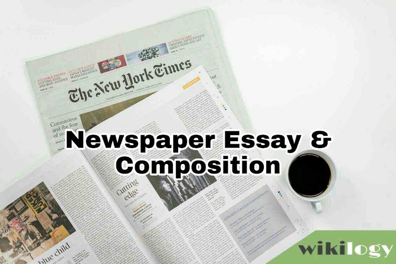 Newspaper Essay Composition