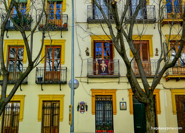 Decoração de Natal em Sevilha, Andaluzia, Espanha