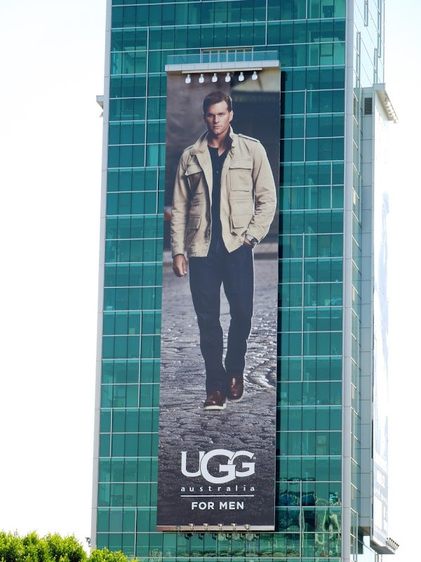 Giant UGG for Men FW 2012 billboard