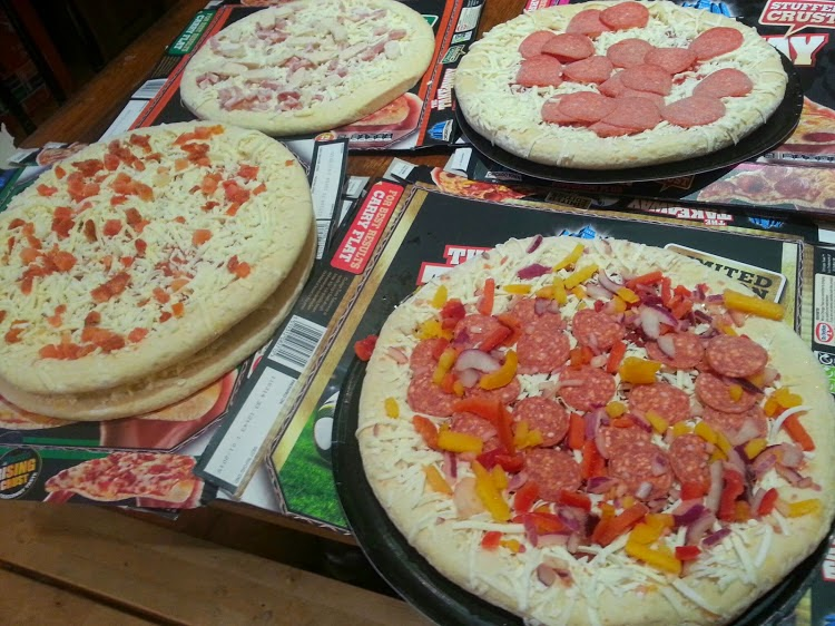 Chicago Town Take Away Pizza Range Review Lots of toppings