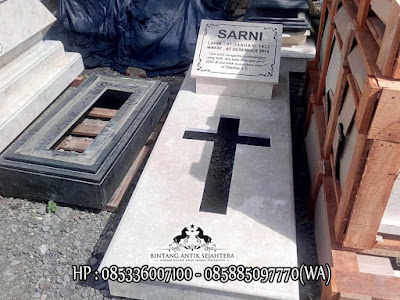 Model Kuburan Kristen Terbaru | Makam Kristen Marmer Minimalis