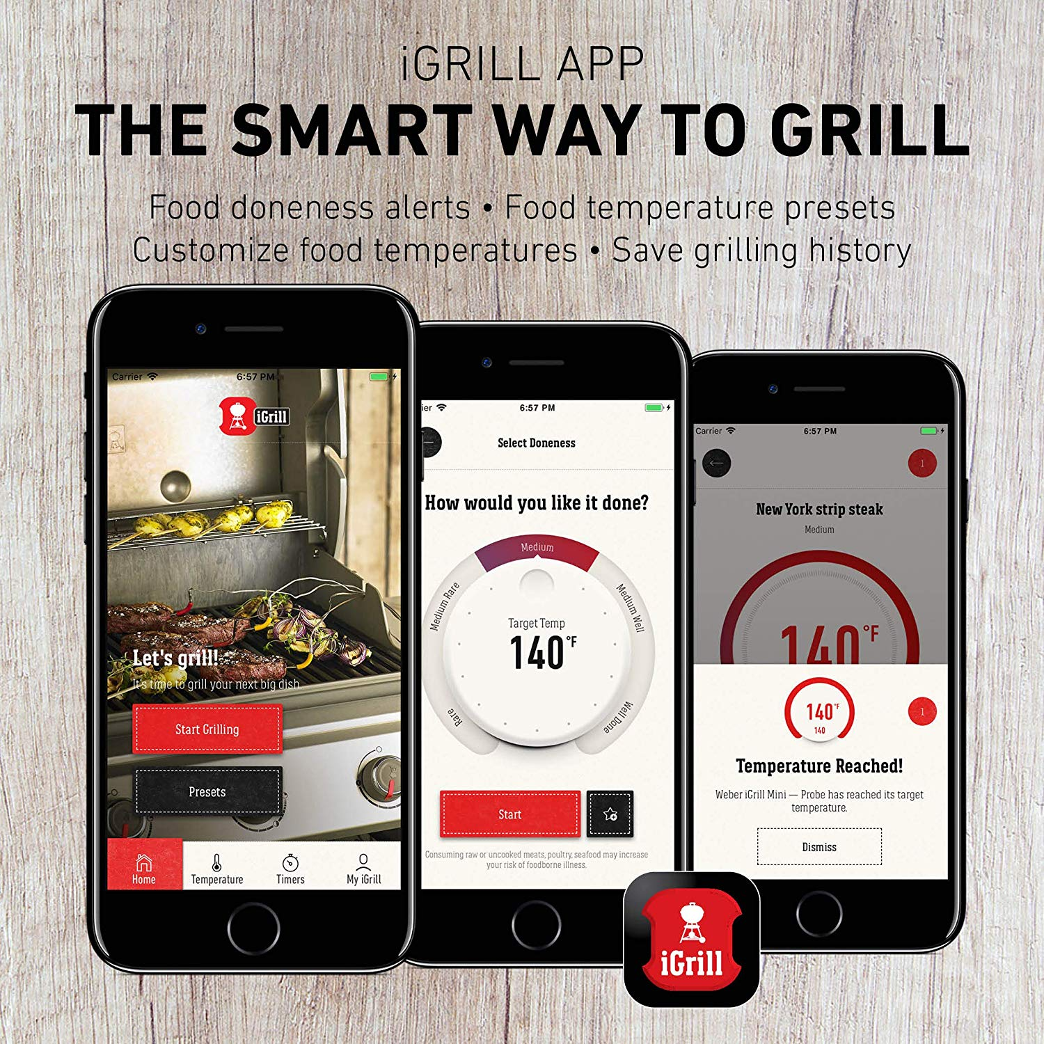 iGrill Bluetooth meat thermometer