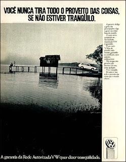 propaganda Rede Autorizada Volkswagen 1974, , propaganda Volkswagen - 1974, vw anos 70, carros Volkswagen década de 70, anos 70; carro antigo Volks, década de 70, Oswaldo Hernandez,