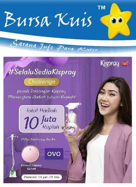Kuis Kispray Online Terbaru
