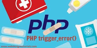 PHP trigger_error() Function