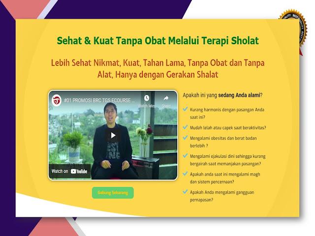 Pelatihan Terapi Gerakan Sholat untuk Kesehatan Alat Vital di Jogja (Yogyakarta)