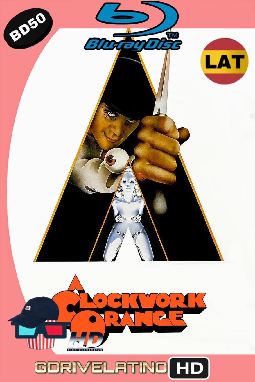 La naranja mecánica (1971) BD50 1080p (Latino-Inglés) ISO