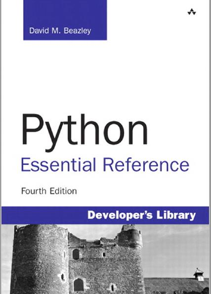 Python Essential Reference. Fourth Edition