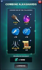 Alkashards Rewards Listing