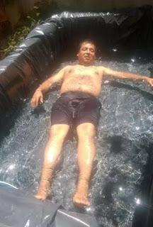 Familia argentina construye una piscina por US$ 10