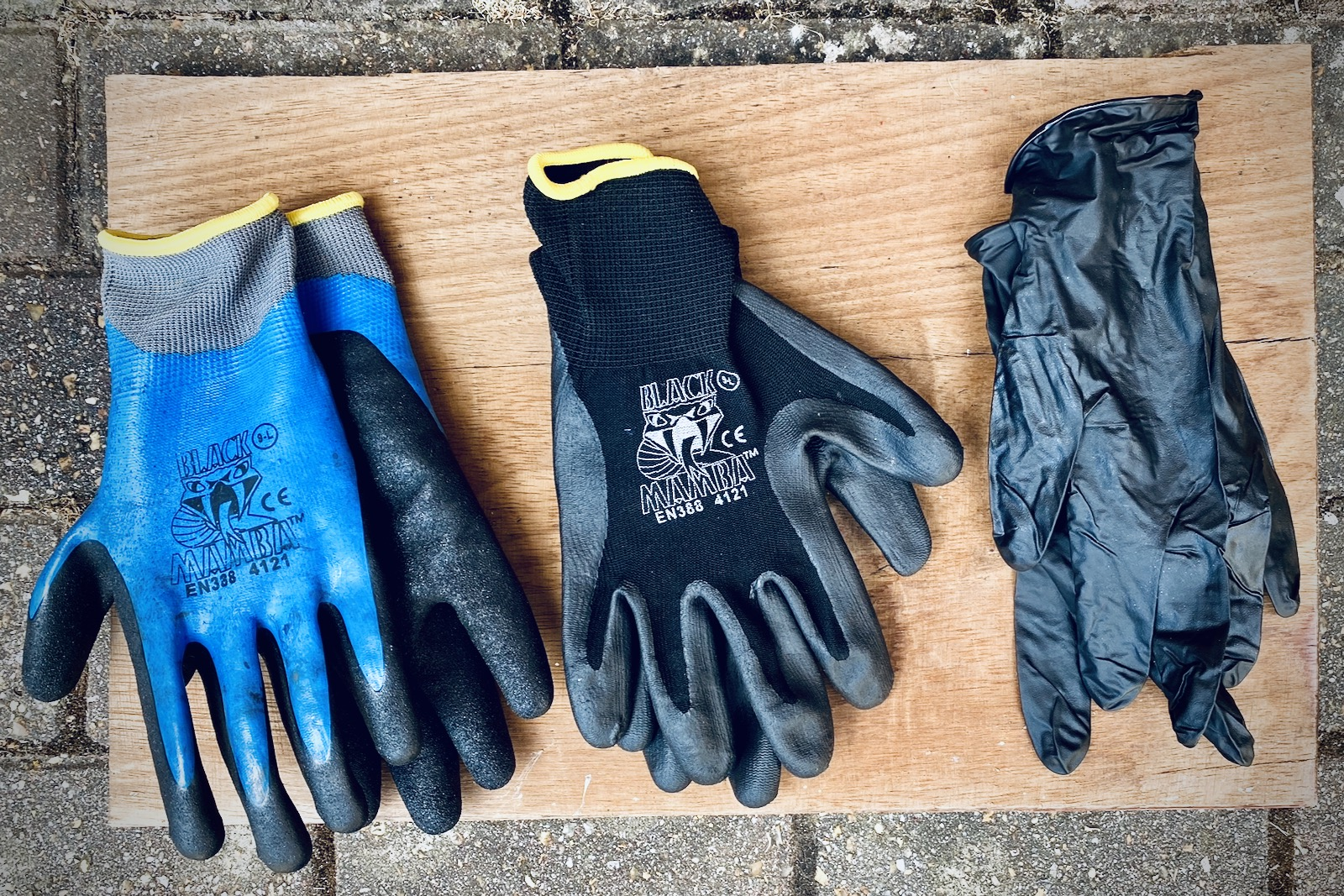 Black Mamba Workshop Gloves