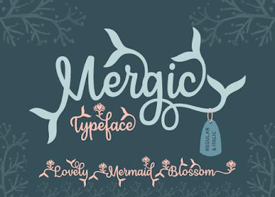 malam ini aku membawa sebuah font berjenis serif untuk kalian Mergic Typeface Free Demo | Download Font