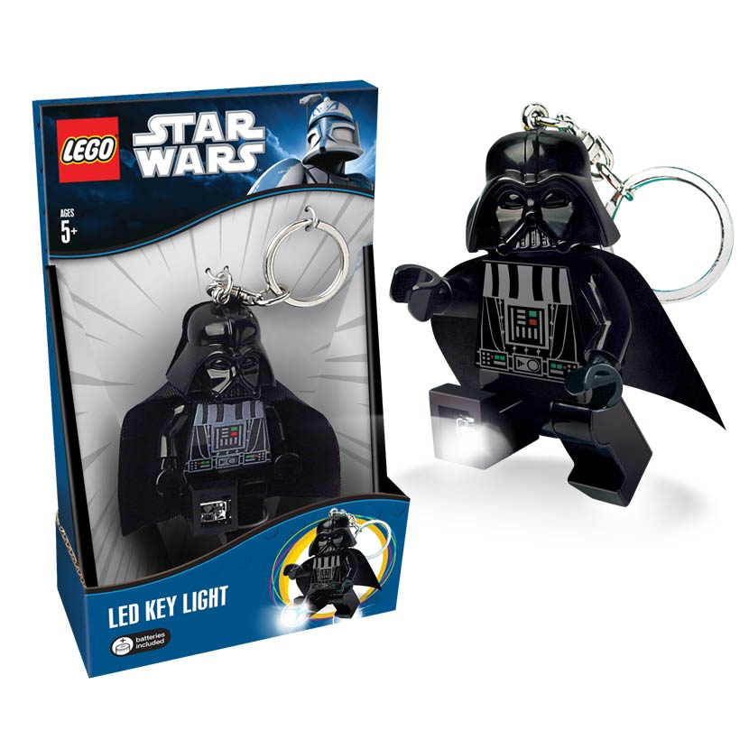 Legoland Asia: LEGO LED Key Light/Torch Star Wars Darth Vader