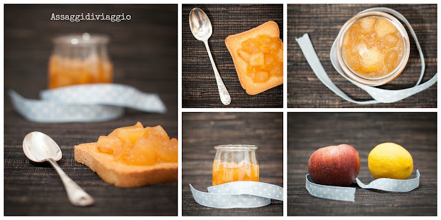 Confettura di mele annurche e limoni di Sal De Riso