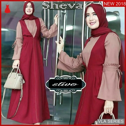VLA042S141 Model Dress Sheva Bd Murah BMGShop