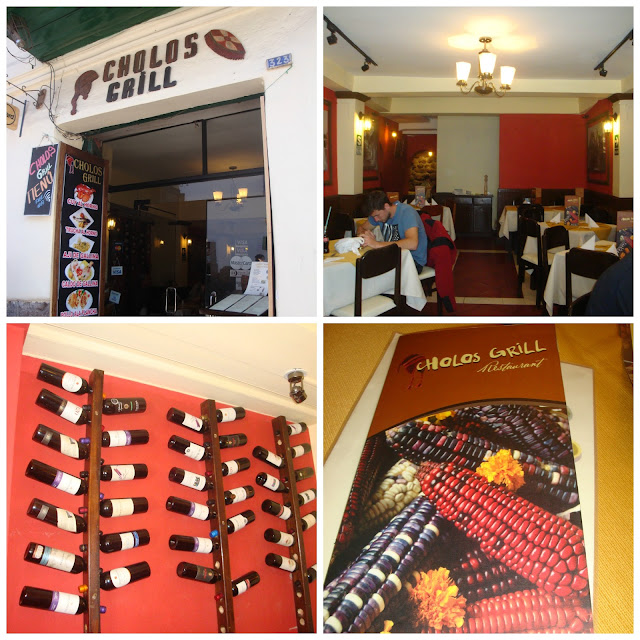 restaurante Cholos Grill, Cusco, Peru
