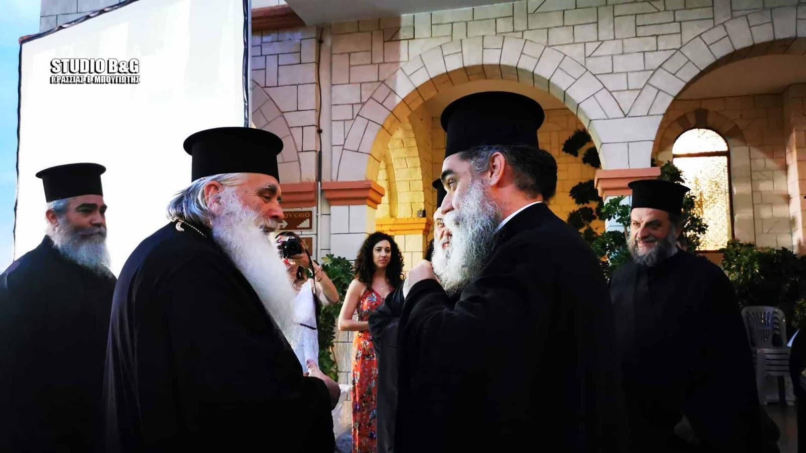 """""""Εκκλησία και πολιτισμός"""", ομιλία στον Ιερό Ναό Ευαγγελιστρίας Ναυπλίου από τον Μητροπολίτη Άρτης κ. Καλλίνικο"""