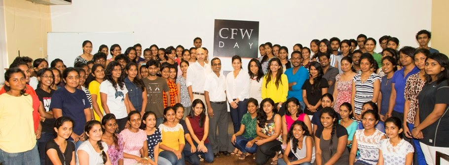 The University of Moratuwa Team with the CFW Team and Designers
