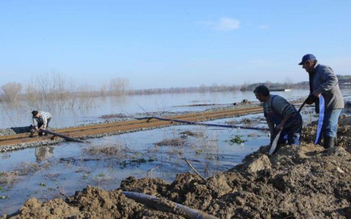 Τεχνητή πλημμύρα 6.000 στρεμμάτων στο Διδυμότειχο για να αποφευχθούν τα χειρότερα