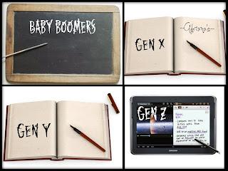 Perbedaan Buku Untuk 4 Generasi Baby Boomers, X, Y, dan Z