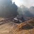 Flamazo destruye pipa de gas LP en Puebla
