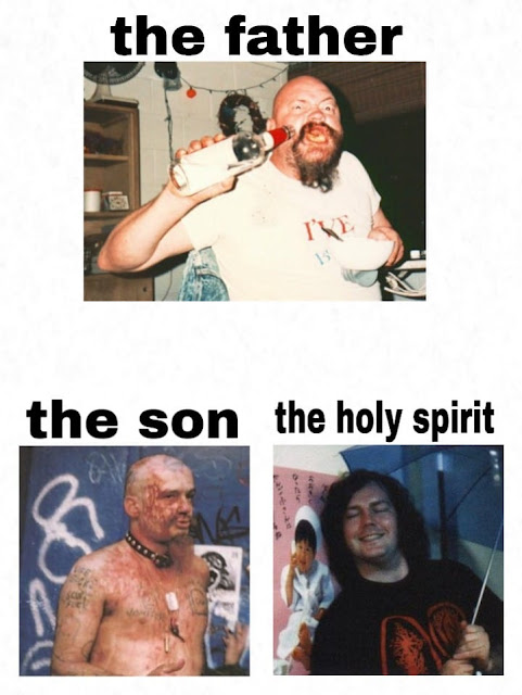 The Holy Trinity Of Sleaze. #PMRC PunkMetalRap.com